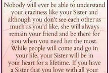 My sister my strength