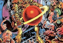Jack Davis / Jack Davis! From EC to Mad Comics... an inking genius!
