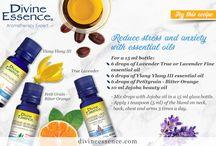 Essential Oils Recipes - Recettes d'huiles essentielles