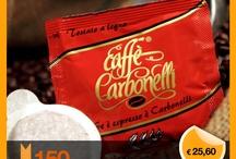 Caffè Carbonelli Shop / In questa board troverete tutte le offerte per le nostre miscele di caffè in cialde ese, capsule monodose, e caffè in grani o macinato.  Potete acquistare i nostri prodotti dall' eshop www.caffecarbonellishop.com  In this board you will find all the offers for our blends of coffee pods ese, capsules, and coffee beans or ground coffee. You can purchase our products from 'eshop www.caffecarbonellishop.com / by Caffè Carbonelli