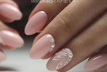 Узор на ногтях