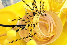 Lulu's 3rd Birthday Party / Maya the Bee theme party planning