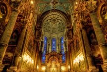 """Cathedral Interior / Interiors of Churches, Cathedrals, Chapels - Jesus: """"My house will be called a house of prayer..."""" Matthew 21:13"""