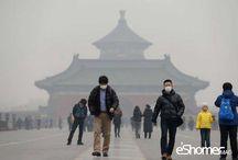 آلودگی هوا در چین باعث تعطیلی کارخانه ها شد