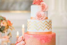 wedding cake stylé