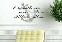 A Smooth Sea Never Made a Skilled Sailor - Tattoo