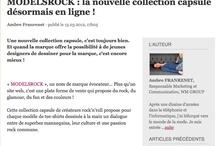 """Modelsrock Press / Modelsrock on """"Le Journal des Femmes"""""""