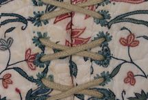 18th century: Embroidery