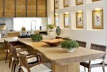 Decoracao - Sala Jantar/Cozinha