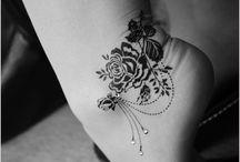 feminine, edgy, gorgeous tattoos / tattoo ideas for women