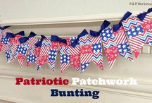 Buntings, Banners & Garland