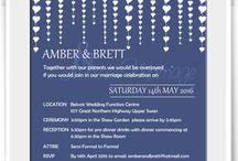 Reception Invites