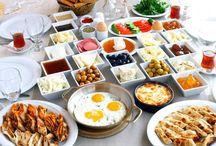 Kahvaltılıklar ve sunumları