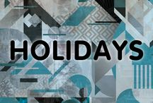 Holiday Season / Who doesn't love a good holiday? From Christmas to 4th of July we know that life is just a party so why not celebrate them all?!