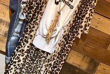 Bohemian Inspired Fashion Cheetah duster buy online www.chunkyarmadillo.com