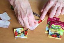 Tvoření z čajových sáčků