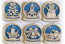 Рождественские орнаменты