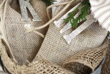 Burlap Ideas / by Deanna Clausen
