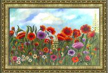 Η ζωή μας ξεκινάει σαν το λουλούδι.... / Να 'ταν ο κόσμος μας περβόλι κι εμείς αδελφωμένοι όλοι, σαν τα λουλούδια πλάι-πλάι, ο ένας τον άλλο να αγαπάει....!!
