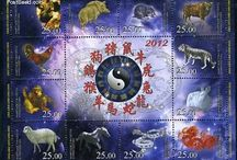 New Year Stamps / Stamps with topic New Year