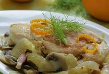Favorite Recipes / Poulet a' l Orange