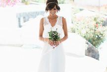 Sweet Santorini destination Wedding