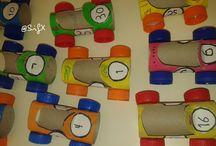 Meios de transporte / Means of transport / Kids Crafts