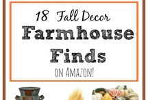 Fall Decor / Decor inspiration for Fall.