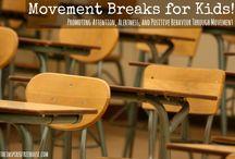 Movement breaks for the kids