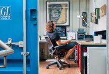 My box office / Contenedores transformados en oficinas