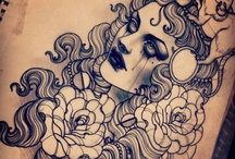 Tattoo/Sketch - Neo Traditional / by Ricardo Kodi