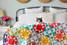 Quilts 4 / patchwork and quiltwork in various styles and technics; patterns,  tips, many inspirations
