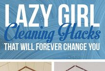 17 LAZY GIRL Cleaning Hacks