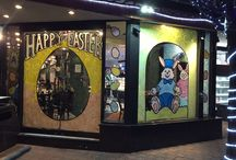 Easter Windows Fortunato's Pastry Shop, Brooklyn 2016