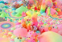 L'art et les bonbons ensembles