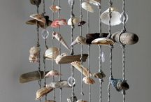 Driftwood and Seashell Mobile Ideas