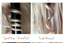 Hints and tip how to style hair yourself
