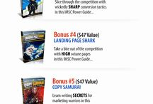 Best Bonus Offers / Here are the best bonus offers for some hot Internet Marketing-Related products.