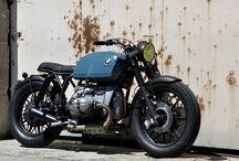 Brat style moto