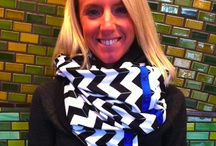 LOVES  scarves! / by Kathleen Cook