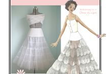 Sew Chic Pattern Pretty Petticoat #LN1208 : Womens Sewing Pattern / Love the petticoat slip? On this board we have collected everything on the web into one place to help you plan, sew, and wear this Slip by Sew Chic Patterns