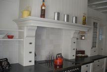 Klassieke landelijke keukens