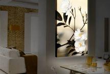 QUADRI RETROILLUMINATI / Proposte e idee per decorare la vostra casa con dipinti originali con illuminazione a LED.