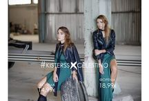 #KISTERSSXCELESTINO / Η Όλγα και η Γωγώ Φαρμάκη, aka ‪#‎KISTERSS‬, φωτογραφίζονται για τη νέα καμπάνια Fall 2015 της Celestino. Credits Photo : Ioanna Tzetzoumi Art Direction / Styling : Yiorgos Mesimeris Hair / Makeup : Christos Bairabas / Marita Politou Special Thanks to the Celestino Team!
