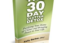 The 30 Day Clutter Detox / The 30 Day Clutter Detox is a 30 day plan for detoxing your home of clutter and helping you find the peace that you've been looking for each and every time you enter your home.