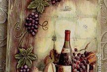 quadro de uvas