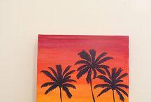 warm sunny painting / by Jennifer Boyd