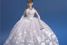 Barbie ve svatebních šatech
