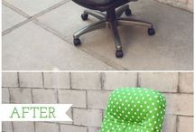 Upholster office chair