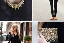 classic combo:: black and gold / by Desiree Durso